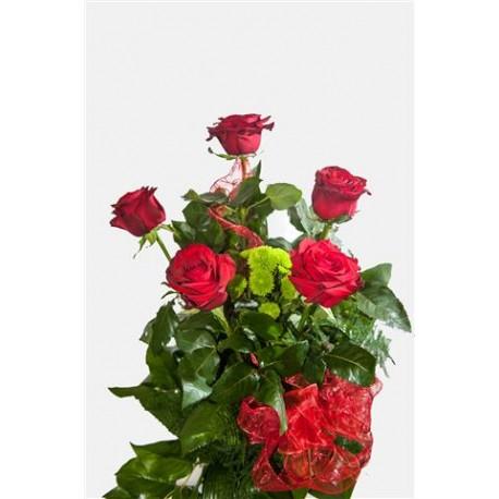 Bukiet z 5 róż